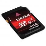 Kingston Digital 64GB SDXC UHS-1 Class 10 memory card