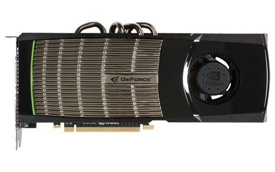 NVIDIA GeForce GTX 480 graphics card picture