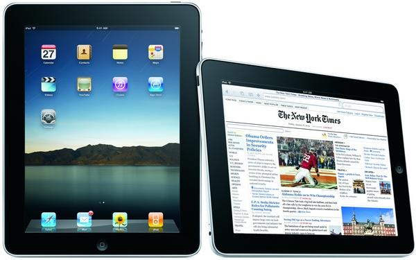 Apple iPad tablet photo
