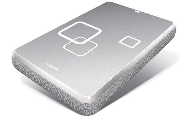 Toshiba Canvio for Mac external portable hard drive photo