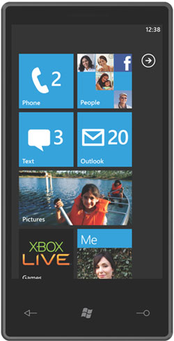 Windows Phone 7 picture