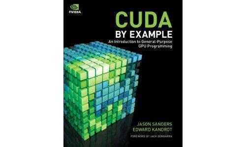 CUDA by Example Jason Sanders Edward Kandrot book