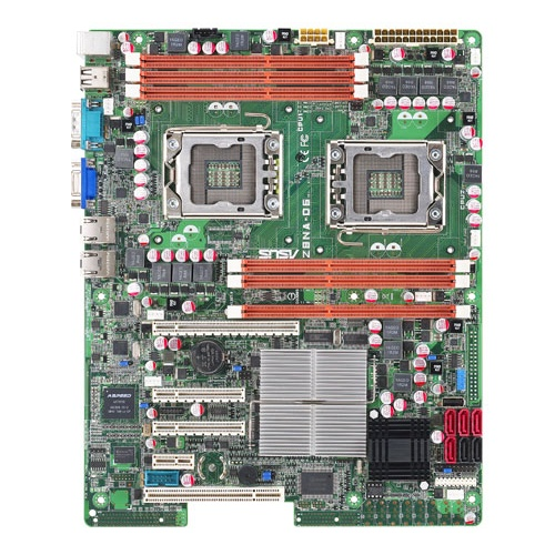 ASUS Z8NA-D6C dual socket 1366 motherboard picture