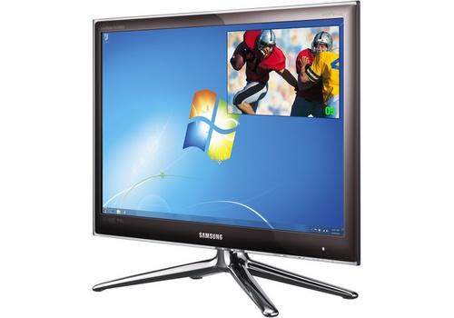 Samsung FX2490HD 90 series HDTV tuner monitor picture
