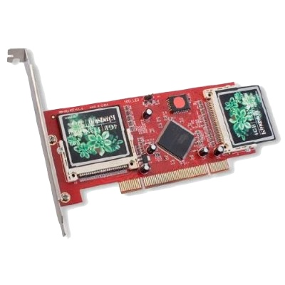 Syba PCI to 4 Compact Flash Cards Raid Adapter photo