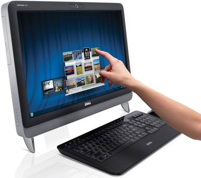 Dell Inspiron One 23 inch all in one touchscren computer picture