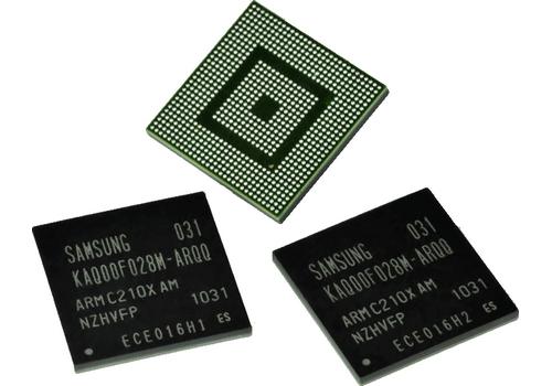 Samsung Dual CORTEX A9 ARM dual core processor picture