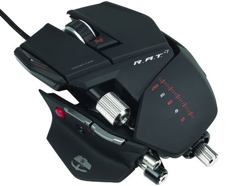 The Cyborg R.A.T. 7 gaming mouse gets about as adjustable as you can get