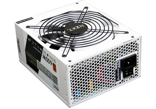 NZXT HALE90 650 Watt 80 Plus Gold modular power supply picture