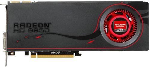 AMD Radeon HD 6950 1GB video card image
