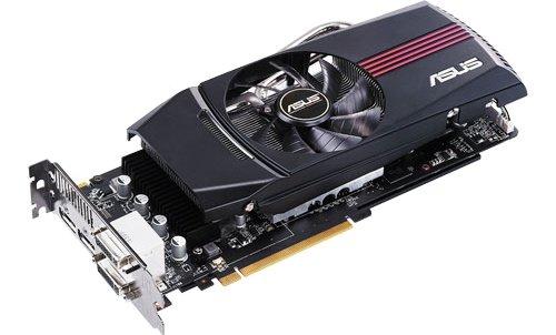 ASUS Radeon 6870 DirectCU video card image