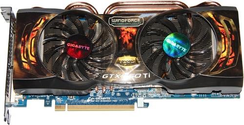GIGABYTE GeForce GTX 560 Ti NVIDIA video card image