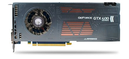 KFA2 GeForce GTX 460 Razor Single Slot NVIDIA video card image