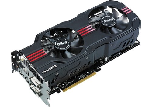 ASUS GTX580 DirectCU II ENGTX580 DC II NVIDIA GeForce GTX 580 video graphics card image