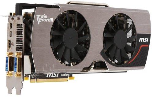 MSI Radeon HD 6970 Lightning video card image