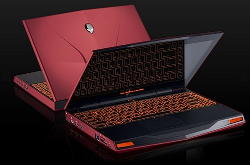 Alienware M14x gaming notebook image