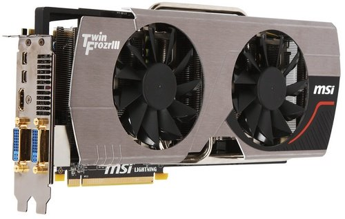 MSI Radeon HD 6970 Lightning video card image