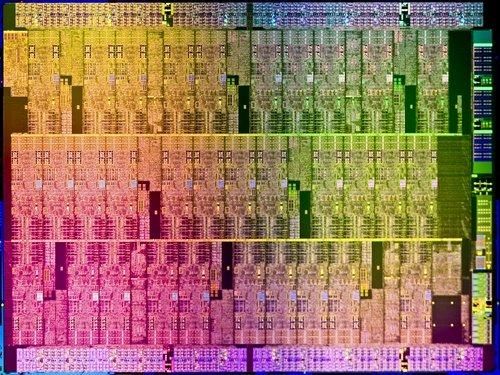 Intel Knights Corner Aubrey Isle die image