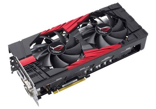ASUS ROG MARS II 2DIS 3GD5 NVIDIA GeForce GTX 580 video card image