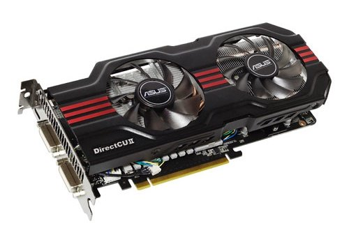 ASUS ENGTX560 NVIDIA GeForce 560 Ti DCII video card image