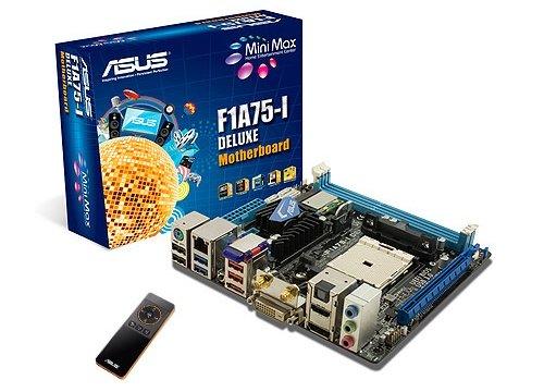 ASUS F1A75-I AMD FM1 Llano A8 A6 miniITX motherboard image