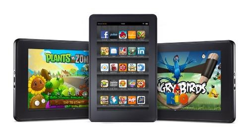 Amazon Kindle Fire app games image