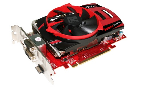 PowerColor PCS+ HD6770 1GB GDDR5 Vortex II AMD Radeon HD 6770 image