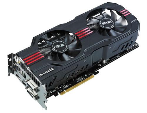 ASUS GeForce GTX 560 Ti 448 core ENGTX DirectCU II image