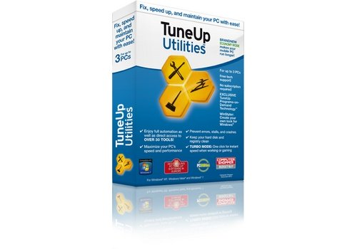 TuneUp Utilities 2012 system tweaking software box image