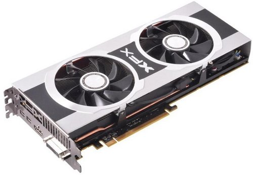 XFX Radeon HD 7970 Black Edition Double Dissipation video card image