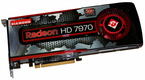 Diamond Radeon HD 7970 3GB video card image