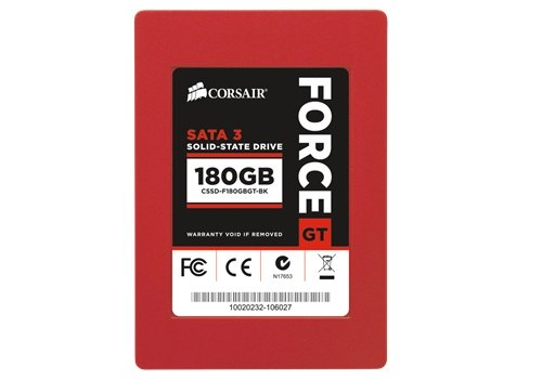 Corsair Force Series GT 180GB SSD solid state drive image