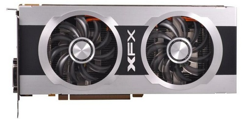 XFX Double D Black Edition Radeon HD 7870 video card image
