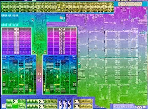 AMD A10-4600M Trinity mobile laptop CPU processor image