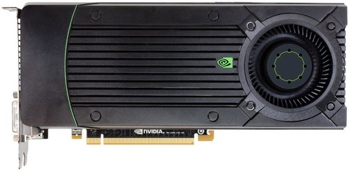 NVIDIA GeForce GTX 670 video card image