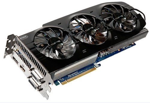 Gigabyte GeForce GTX 680 video card image